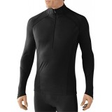 SMARTWOOL Men's NTS Light 195 Zip T black