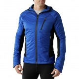 SMARTWOOL Men's PhD Propulsion 60 Hoody Sport Jacket bright blue