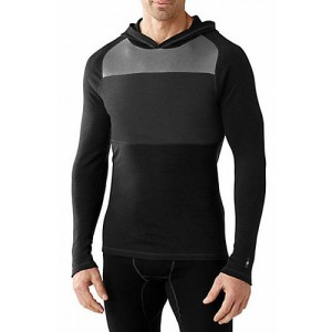 SMARTWOOL Mens NTS Mid 250 Color Block Hoody футболка дл. рукав black